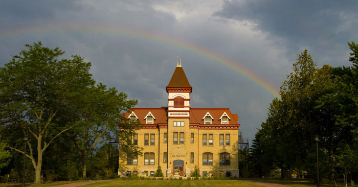 Old Main at Lakeland College