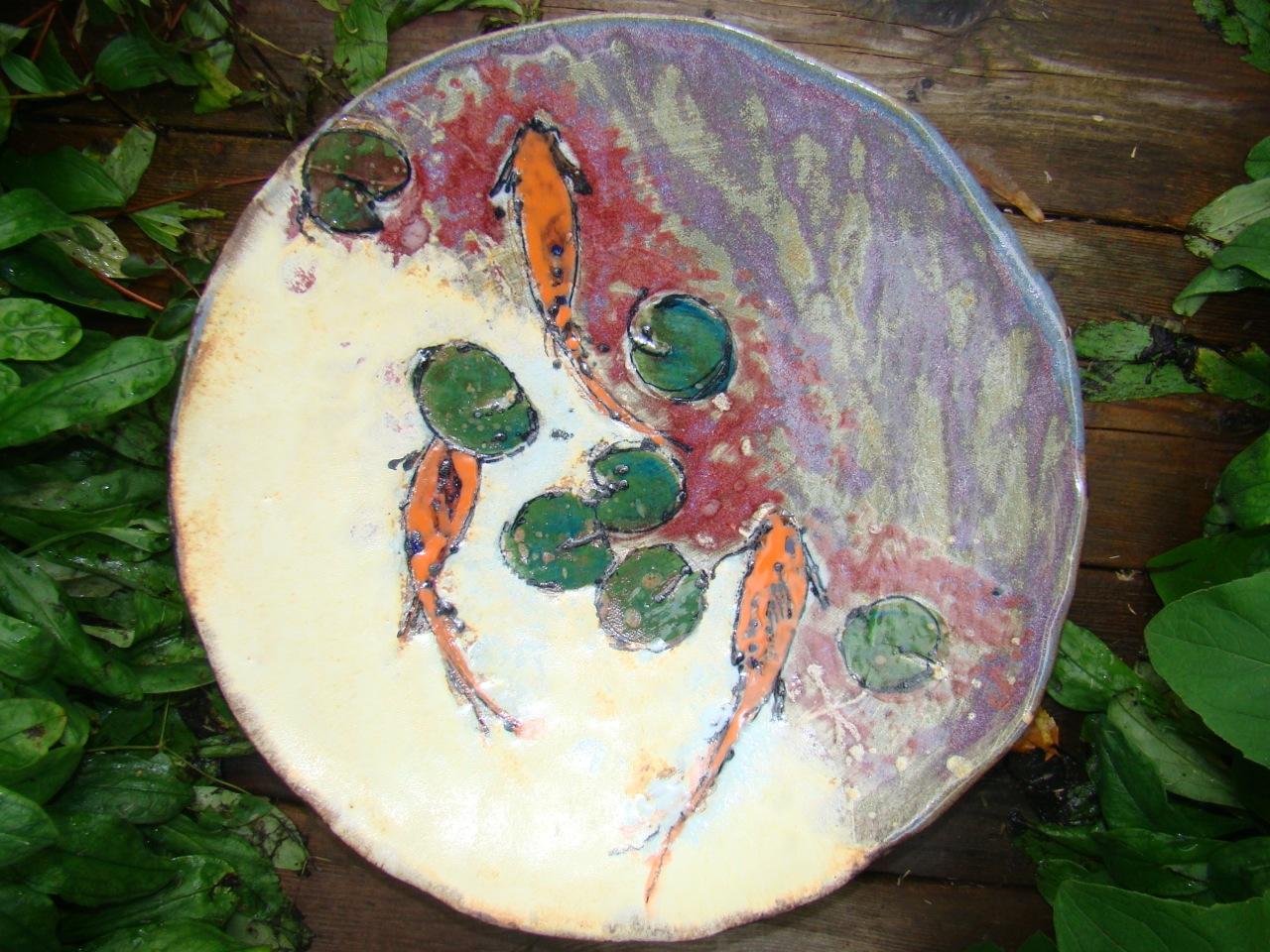 Fish Plate Pat Robinson
