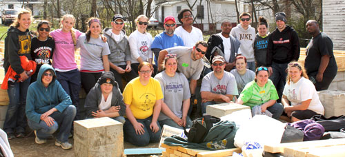 Habitat for Humanity group photo