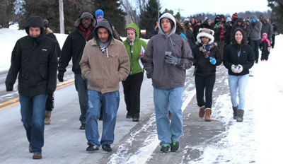 Lakeland College Peace Walk