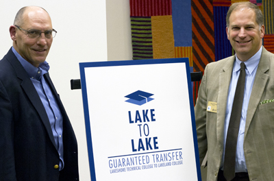 Lake to Lake Partnership Announced