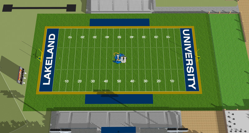 Rendering of the future Taylor Field