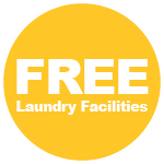 FREE Laundry Facilities
