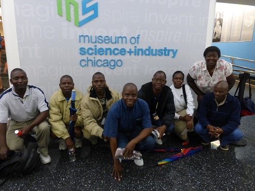 group at museum of science and industry resized