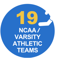 18 NCAA Varsity Athletic Teams