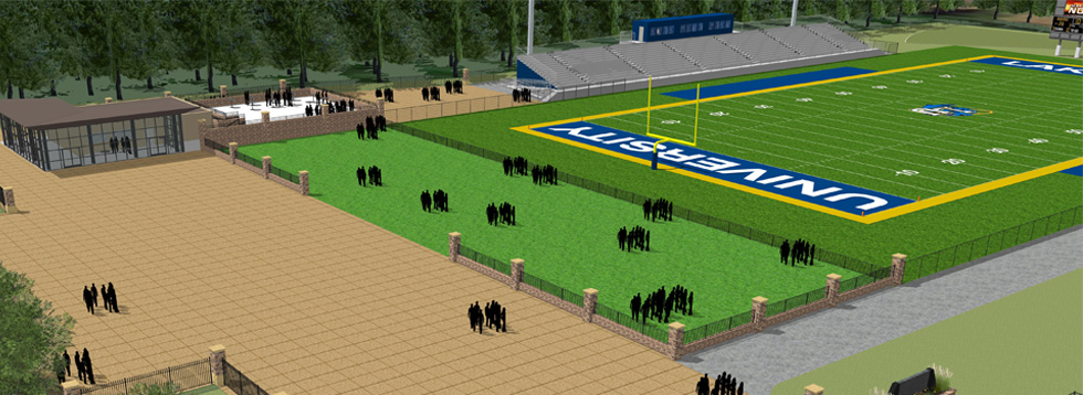 Coming Fall 2017: New Outdoor Athletic Facility  More ▶