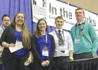 LU quartet competes at Midwest Food Expo