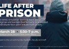 Life After Prison event offers unique perspective