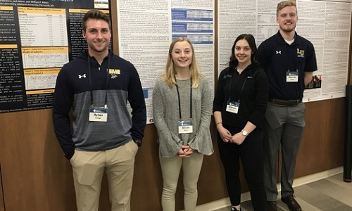 LU students present at national conference