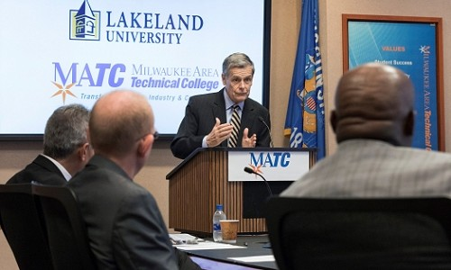 Lakeland, MATC partnership will benefit Milwaukee area students