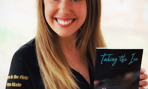 2008 grad's book ties to her passion