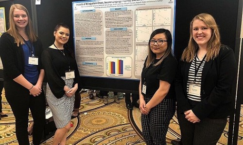 LU psychology students present at Midwest conference