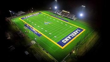 Lakeland University football and soccer field