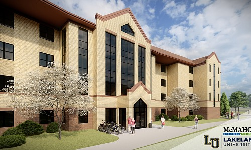 Lakeland breaks ground on $26 million residence hall project
